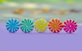 Картинка фон, цветные, конфеты, сладости