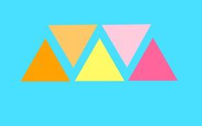 Картинка фон, узор, краски, треугольник