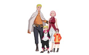 Картинка Naruto, Sakura, anime, ninja, asian, manga, shinobi, japanese, oriental, asiatic, Sarada, Boruto, Boruto: Naruto the …