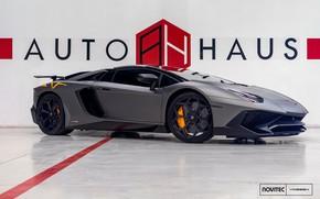Картинка Lamborghini, Aventador, Vossen, Novitec