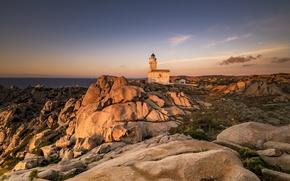 Картинка маяк, Italia, Sardegna, Faro di Capo Testa