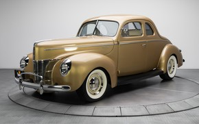 Картинка ретро, Coupe, Deluxe, 1940, Ford V8