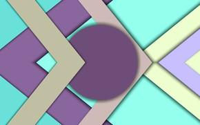 Картинка треугольники, круг, тени