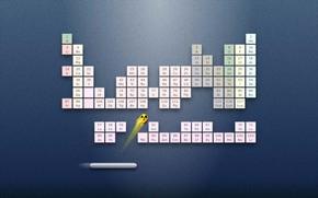 Картинка Игра, Фон, Арт, Радиоактивный, Таблица Химических Элементов, Радиоактивный элемент, Таблица Менделеева, Периодическая система химических элементов