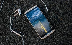 Обои ZTE Gigabit, smartphone, MWC 2017, ZTE