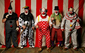 Обои фон, Cirque d'Xavier, люди, Clowns