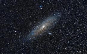 Обои Andromeda Galaxy, Галактика Андромеды, M31