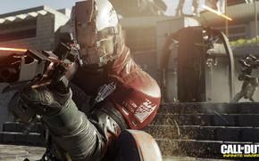 Картинка gun, game, weapon, Call Of Duty, suit, helmet, Call Of Duty Infinite Warfare