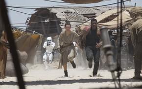 Картинка кадр, Star Wars, Звёздные Войны, персонажи, The Force Awakens