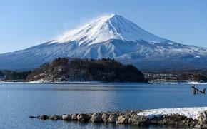 Картинка пейзаж, гора, вулкан
