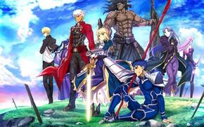 Картинка аниме, персонажи, Судьба ночь схватки, Fate / Stay Night