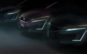 Картинка car, Honda, New York, speed, Honda Clarity Series, New York International Auto Show, tecnology Clarity