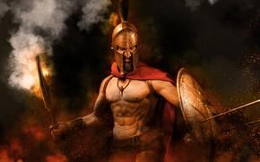 Картинка фон, игрушка, Леонид, 300 Спартанцев
