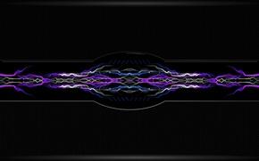 Картинка линии, фон, alien mech
