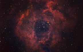 Картинка космос, звезды, Rosette Nebula