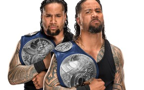 Обои Джимми Усо, The Usos, Jimmy Uso, Братья Усо, Jey Uso, Джей Усо, тату, SmackDown, WWE