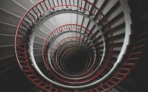 Картинка Лестница, Перила, Ступеньки, Архитектура