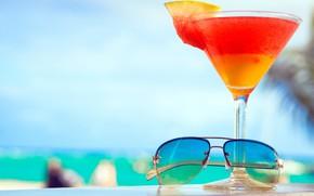 Картинка очки, коктейль, напиток