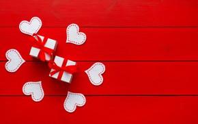 Обои heart, love, wood, romantic, gift, любовь, сердечки, Valentine's Day, сердце, подарки