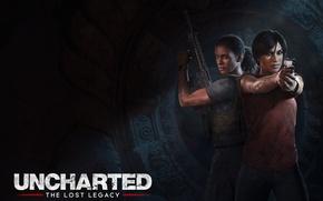 Картинка Uncharted, Naughty Dog, Uncharted: The Lost Legacy, Хлоя Фрейзер, Надин Росс