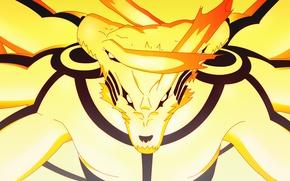 Обои japanese, Ashura Kurama Mode, Kurama no Yoko, by indiandwarf, Naruto, kyuubi, Naruto Shippuden, anime, bijuu