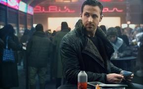 Обои cinema, film, Ryan Gosling, Ridley Scott, movie, Blade Runner, Blade Runner 2049, man