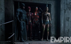 Картинка Wonder Woman, Batman, DC Comics, Flash, Gal Gadot, Justice League, Ben Affleck, Ezra Miller, Cycorg, …