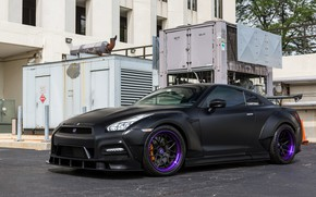 Картинка GTR, Nissan, Tuning, Bodykit