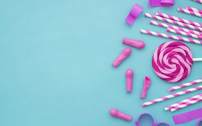 Картинка шары, сладости, леденцы, карамель