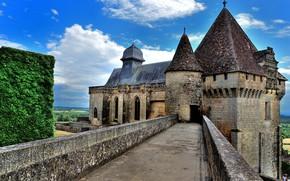 Картинка Франция, Замок, Кастельно, Castelnaud