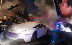 Картинка car, game, police, Watch Dogs, Watch Dogs 2