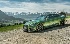 Картинка горы, Audi, RS5, Coupe, 2018, ABT, RS5-R, RS 5