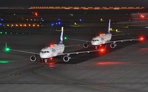 Картинка самолет, JetBlue 833, аэродром