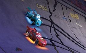 Картинка car, Japan, Cars, race, speed, animated film, kanji, animated movie, Cars Toons Mater's Tall Tales