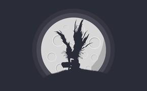 Картинка смерть, death note, Рюк, ryuk, Тетрадь смерти