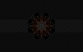 Картинка сетка, узор, орнамент, симметрия, attack fifth