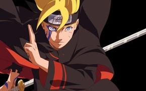 Обои seal, manga, Boruto: Naruto the Next Generation, katana, fuuinjutsu, blade, Jogan, Jōgan, ninja, shinobi, asian, ...