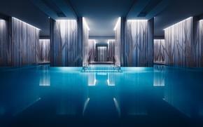 Картинка Англия, Лондон, бассейн, отель