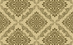 Картинка узор, wallpaper, vintage, Damask, seamless, орнамен, pattern.