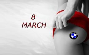 Картинка BMW, RED, GOODFON, 8 MARCH