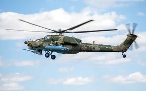 Картинка парад, российский, Ми-28, ударный вертолёт