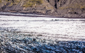 Картинка ледник, Европа, Исландия, Iceland, Skaftafell National Park, Скафтафетль, Национальный парк Скафтафетль, Skaftafellsjökull