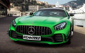 Картинка Mercedes-Benz, вид спереди, AMG, 2018, RennTech, GT R