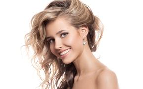Картинка smile, blonde, female