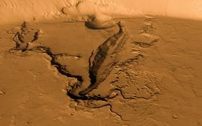 Картинка поверхность, планета, Марс