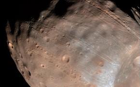 Обои спутник, Марса, Фобос