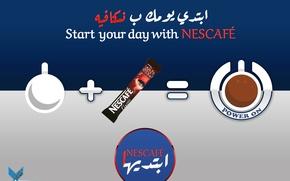 Картинка food, morning, drink, nescafe, turn on