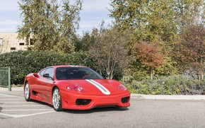 Картинка Ferrari, Red, 360