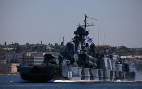 Картинка черноморский флот, самум, ракетный корабль на воздушной подушке