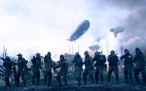 Картинка война, солдаты, EA DICE, Battlefield 1